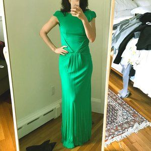 Issa Emerald Open Back Gown (Size 4)